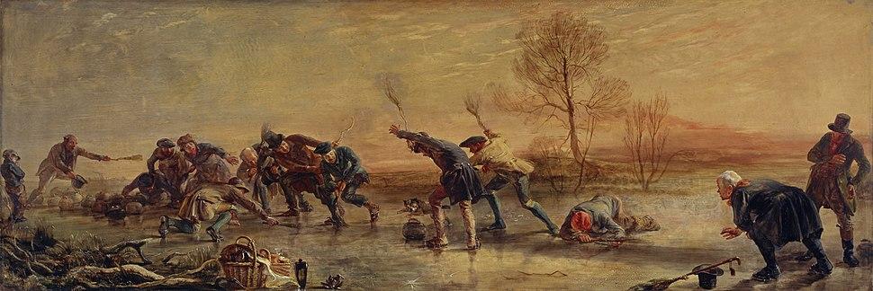 The Curlers by Sir George Harvey