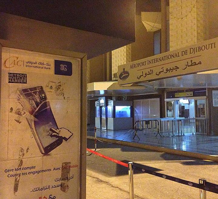 The Djibouti–Ambouli International Airport
