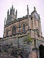 The East Gate and Chapel of St Peter, Warwick, England.jpg