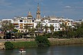 The Guadalquivir embankment in Seville. Spain.jpg