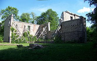 Ancaster, Ontario - Ruins of the Hermitage