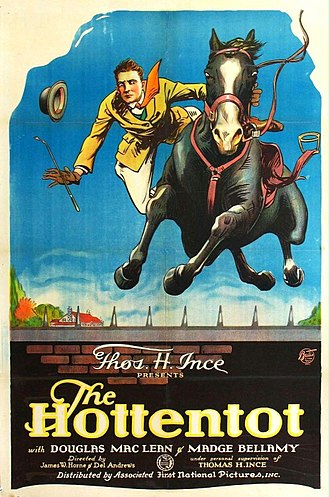 The Hottentot (1922 film) - Film poster