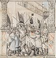 The Humiliation of Emperor Valerian by Shapur, King of Persia, by Hans Holbein the Younger.jpg