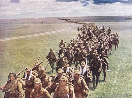 Kwantung Army in Mongolia during the Battle of Khalkhyn Gol, July 1939 The Kwantung Army in Mongolia 1939.png