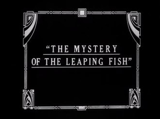 Fichier:The Mystery of the Leaping Fish (1916).webm