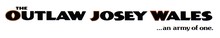 Description de l'image The Outlaw Josey Wales Logo.png.