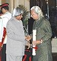 The President, Dr. A.P.J. Abdul Kalam presenting the Padma Vibhushan Award – 2006 to Shri Adoor Gopalakrishnan, a leading luminary of New Indian Cinema, in New Delhi on March 20, 2006.jpg