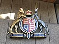 The Royal coat of arms of the United Kingdom at Law Courts Building, Sydney.jpg