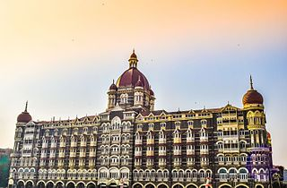 Five-star hotel in Colaba, Mumbai, India