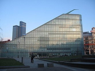 Urbis - Urbis from Cathedral Gardens.