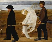 Hugo Simberg's The Wounded Angel.