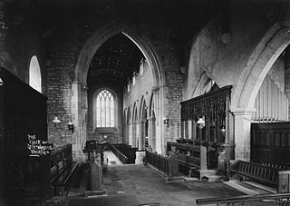 The choir Leintwardine church
