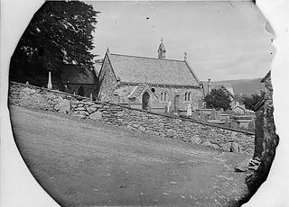 The church, Trefriw (1883)