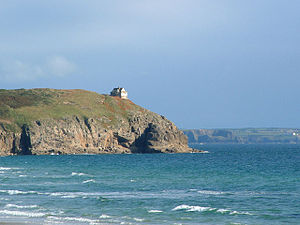 Cornwall film locations - Rinsey Head