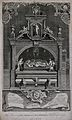 The monument of King Henry II and Richard I with sculptures Wellcome V0042414.jpg