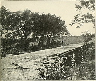 Second Battle of Bull Run - Bridge crossed by the Union troops retreating to Centreville