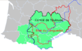 The project to merge Languedoc-Roussillon with Midi-Pyrénées - and historical territories of the area.png