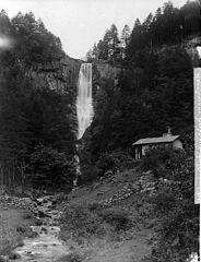 The waterfall, Llanrhaeadr-ym-Mochnant (1888)