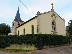 Thierville-sur-Meuse l'église Saint Brice.JPG