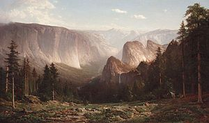 Thomas Hill (painter) - Great Canyon of the Sierra, Yosemite (1872)