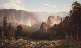 Early California artists - Image: Thomas Hill Great Canyon of the Sierra, Yosemite