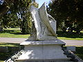 Thomas O. Larkin grave angel rear.JPG
