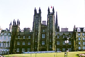 A Satire of the Three Estates - New College, Edinburgh was the venue for the 1982 production