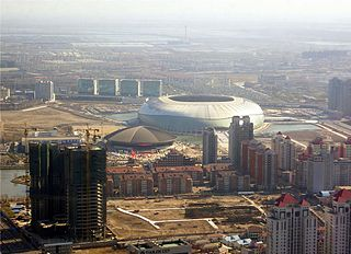 Tianjin Olympic Center football stadium