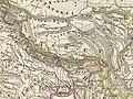 Tibet map before 1859 detail from Asia - Stieler's Hand-Atlas (cropped).jpg