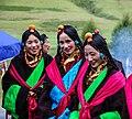 Tibetan Female Headdress in Kham Derge Mesho 11.jpg