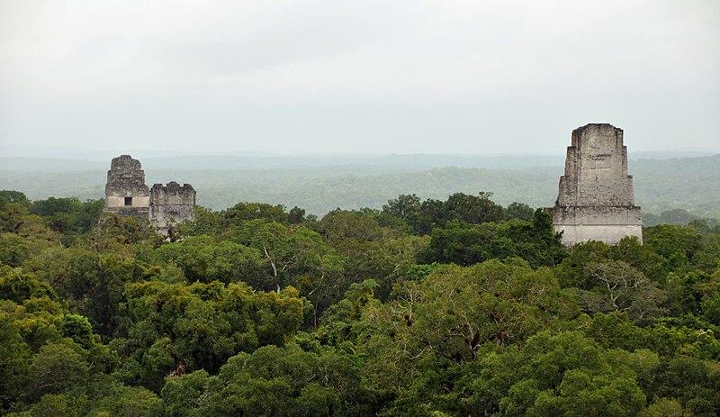 File:Tikal temples 1 2 3 5 2009.JPG