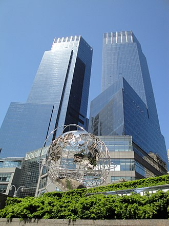 Time Warner Cable - Time Warner Center, formerly the headquarters of the company in New York City. It was shared by its namesake, but now unrelated company, Time Warner.