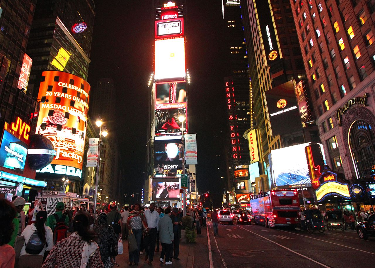 Night Hotel Times Square In New York