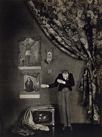 Rene d'Harnoncourt Puppet, 1929