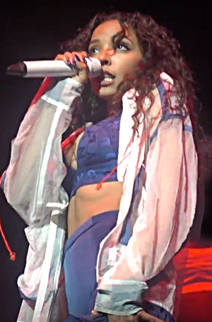 Tinashe - Tinashe opening up for Maroon 5 on tour on February 2, 2017