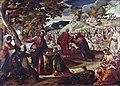 Tintoretto - Moltiplicazione dei pani e dei pesci, Collezione S. Moss.jpg