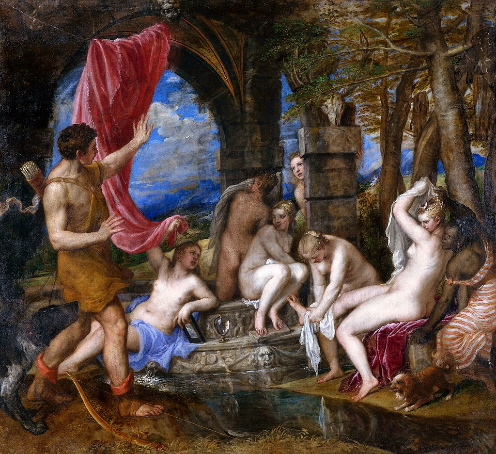 Titian - Diana and Actaeon - 1556-1559