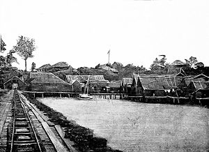 Lahad Datu District - Tobacco Estate in Lahad Datu District during the British period.
