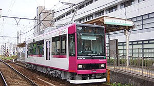 Toei 8900 series - Image: Toei 8900 8906 Arakawa shakomae 20160423