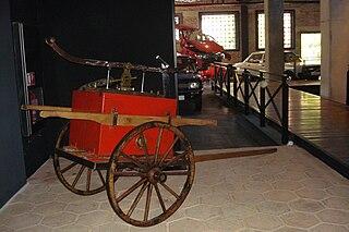 Transport museum in Bursa, Turkey