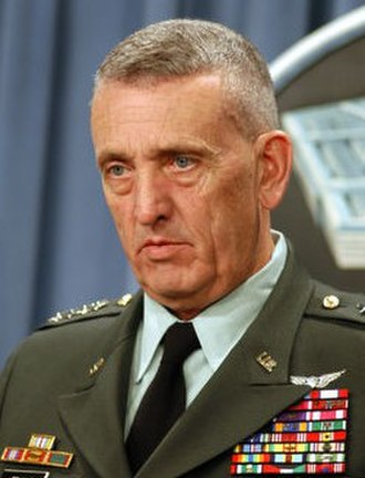 Tommy Franks - Image: Tommy Franks cropped