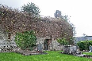 Toomevara - Image: Toomyvara Priory North Wall 2010 09 08