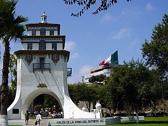 Agua Caliente, Tijuana - Tower of Agua Caliente replica.