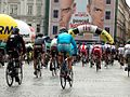 Tour de Pologne 2012, Start etapu (7718953736).jpg