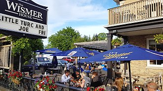 Port Elgin, Ontario - One of the many restaurants serving the numerous tourists during the warm months