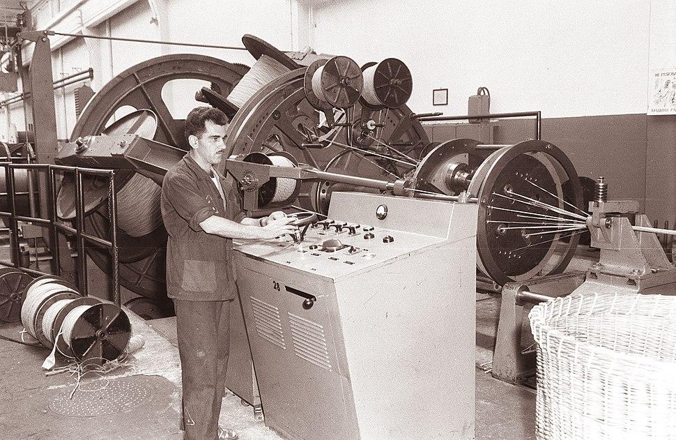Tovarna kablov v Svetozarevu 1961