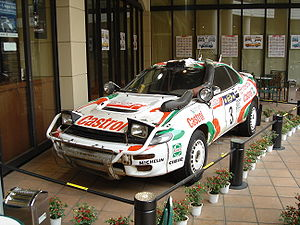 Toyota Motorsport GmbH - TTE's Celica GT-Four ST185 Group A in Safari Rally trim