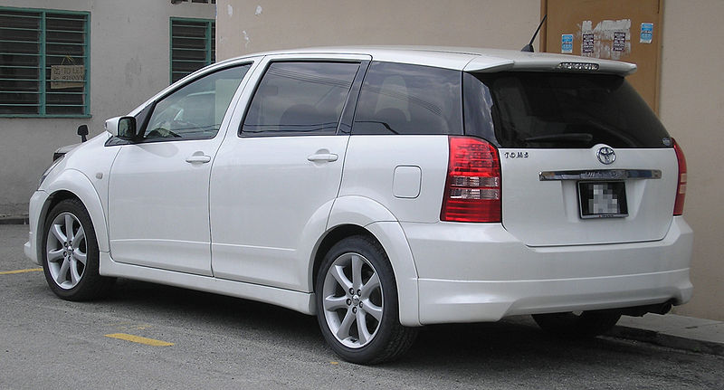 File:Toyota Wish (first generation) (rear), Kajang.jpg