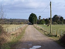Track to South Charford Farm - geograph.org.uk - 1764049.jpg