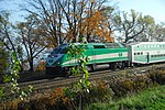 Trainspotting GO train -440 headed by MPI MP40PH-3C - 651 (8123546046).jpg
